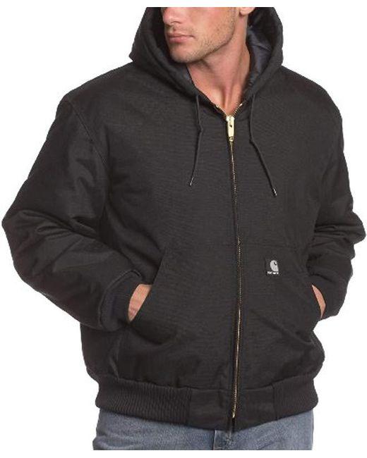 Carhartt - Black Big & Tall Arctic Quilt Lined Yukon Active Jacket J133 for Men - Lyst
