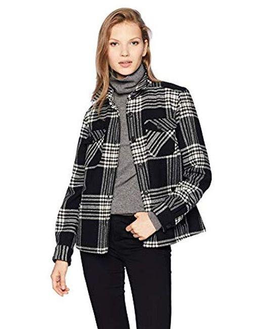 Pendleton Black Roslyn Wool Jacket