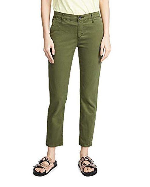 AG Jeans Green Caden Tailored Trouser
