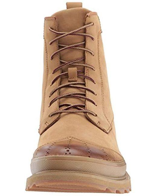 2e7ff33b0 Men's Brown Madson Wingtip Boot Waterproof Oxford