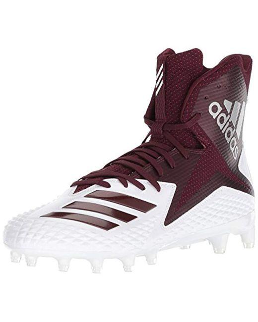 best sneakers d22c8 d5689 Adidas - Multicolor Freak X Carbon Mid Football Shoe, White Maroon, ...