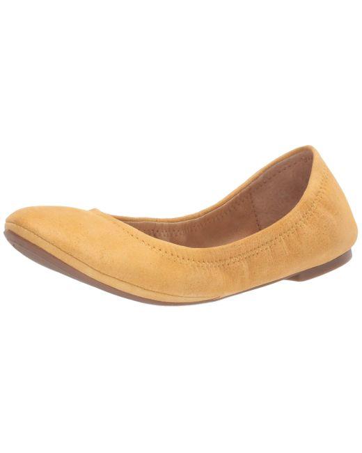 Lucky Brand Brown Emmie Ballet Flat