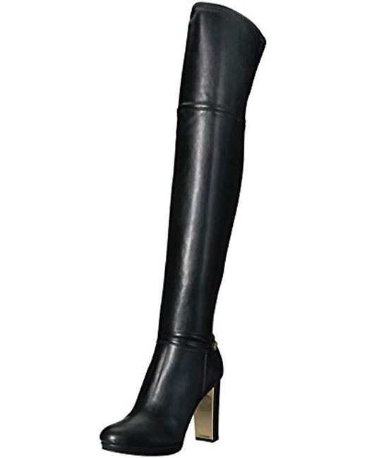 5eb48ad6adf Women's Black Pammie Over The Knee Boot