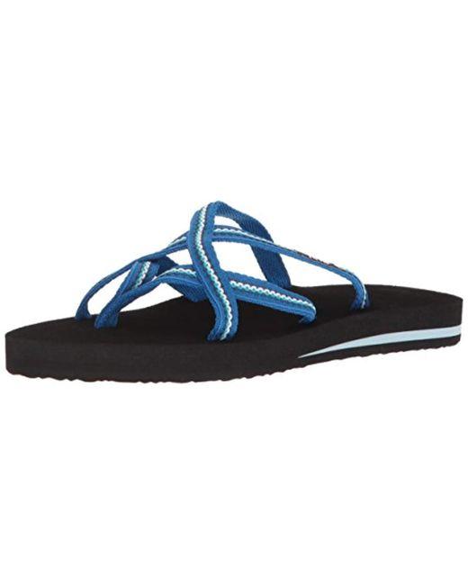 Teva - Blue Olowahu Set Of Two Pairs Of Flip-flops - Lyst