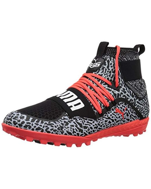 PUMA Red 365.18 Ignite High Text St Soccer Shoe for men