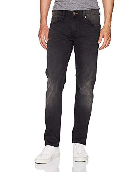 589bb0c7 Lee Jeans - Black Modern Series Slim-fit Tapered-leg Jean for Men ...