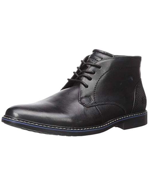Skechers Black Bregman-calsen Boot for men