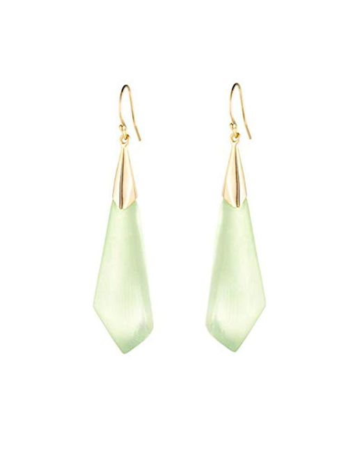 Alexis Bittar - Multicolor Faceted Wire Drop Earrings - Lyst