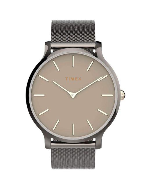 Timex Metallic Dress Watch