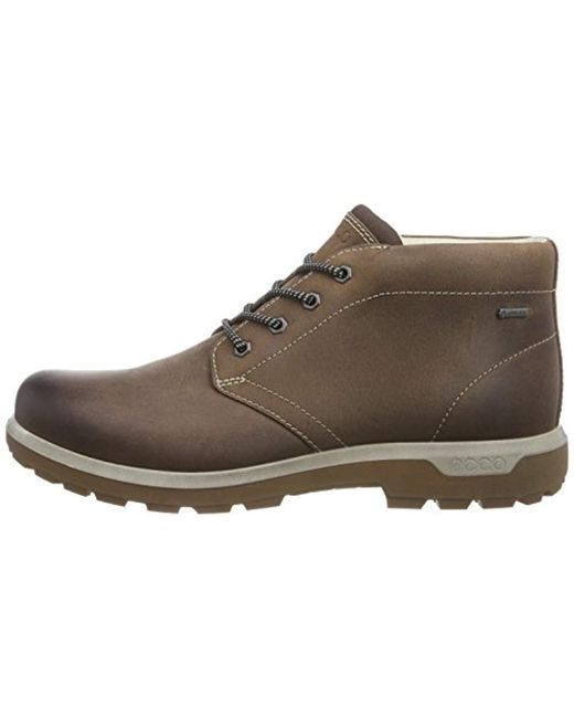 5f0723f3f462 ... Ecco - Brown Whistler Gtx Mid Boot for Men - Lyst ...