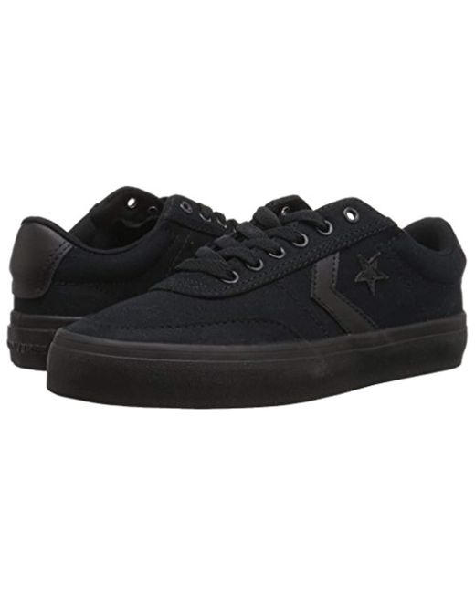 a7dcb9939734 ... Converse - Black Courtlandt Low Top Sneaker for Men - Lyst ...