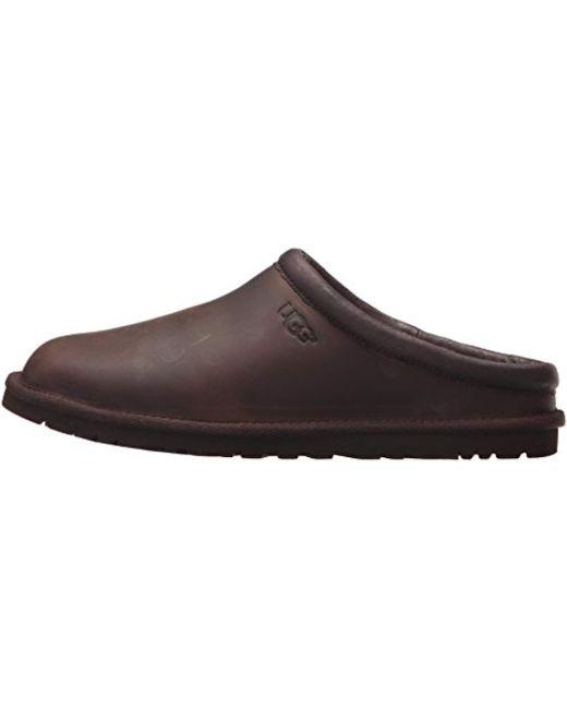 5dfa9b811be Men's Brown Classic Clog Mule