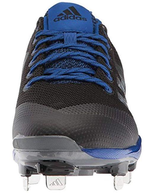 detailing 71af4 bd18d ... Adidas - Freak X Carbon Mid Baseball Shoe, Blackmetallic  Silvercollegiate Royal ...