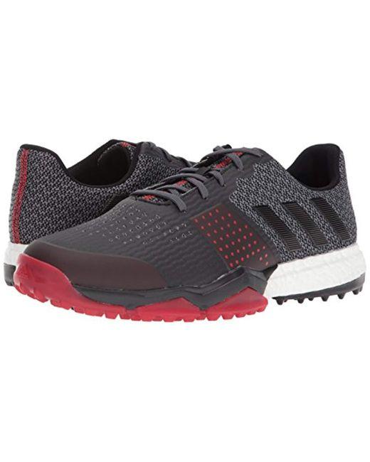 new styles 62b11 8d088 ... Adidas - Black Golf Adipower S Boost 3 Golf Shoe for Men - Lyst ...
