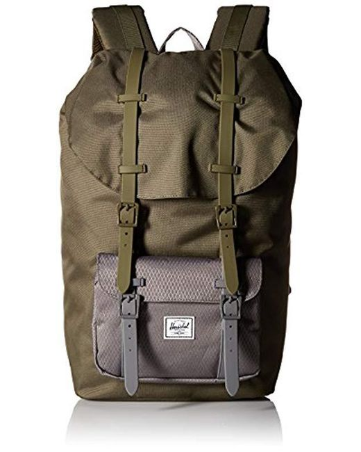 53cc36f08cb Herschel Supply Co. - Green Little America Backpack for Men - Lyst ...