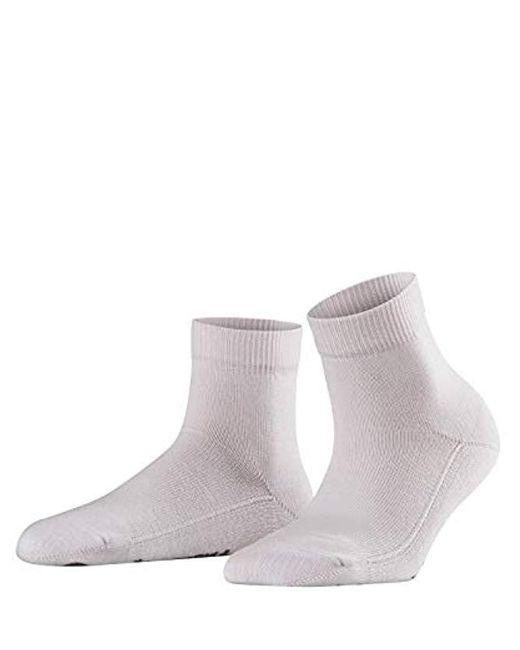 Falke Cuddle Pads Short Ankle Socks, Pink (lotus 8670), Small (size:35-38)