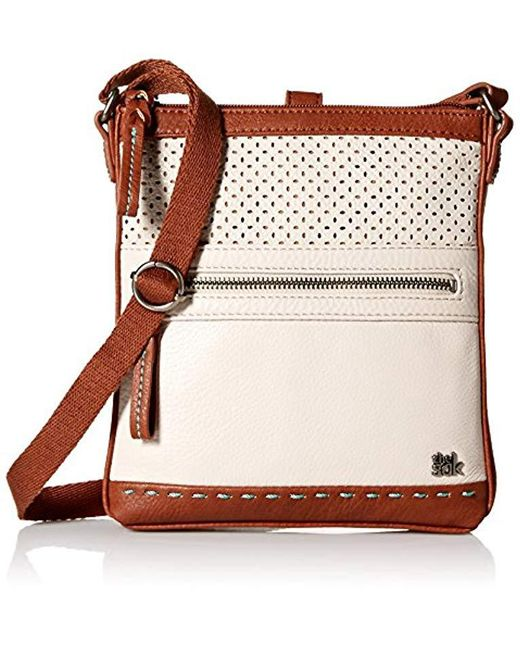 The Sak - Multicolor The Pax Swing Pack Cross Body, Stone Perforated - Lyst