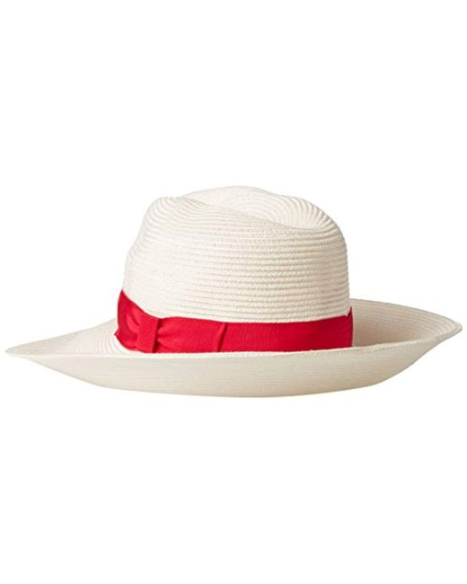 fddbbacbbac ... Gottex - Multicolor Alhambra Packable Fedora Sun Hat