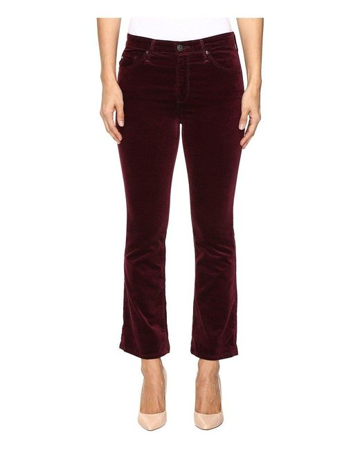 AG Jeans Red Jodi Crop Jean