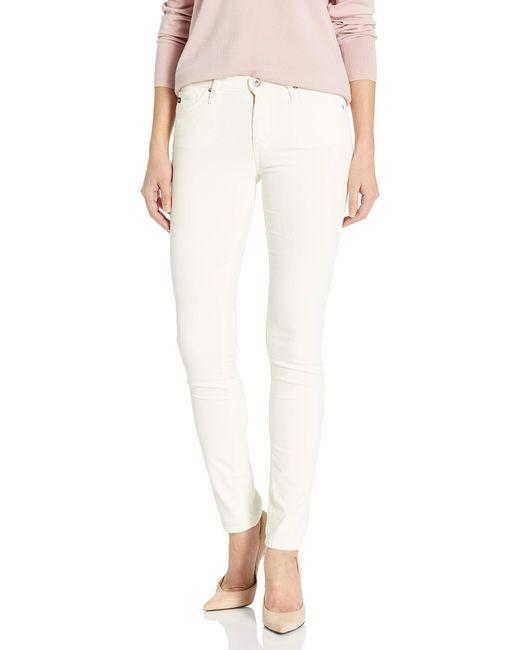 AG Jeans White Prima Cord