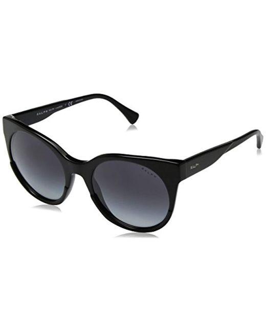 Ralph By Ralph Lauren Black Ra5246 Butterfly Sunglasses