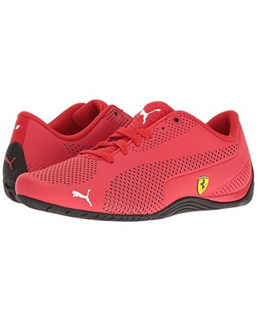 9f32327e097b6a Lyst - PUMA Ferrari Drift Cat 5 Ultra Sneaker in Red for Men - Save 20%