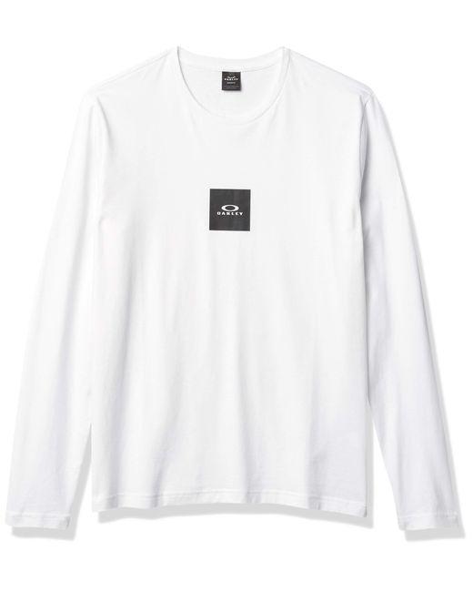 Oakley Bold Block Logo LS Tee T-Shirt in Multicolor für Herren