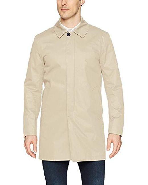 J.Lindeberg Multicolor Water Repellent Twill Coat for men