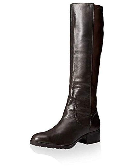Donald J Pliner Brown 50/50 Tall Boot