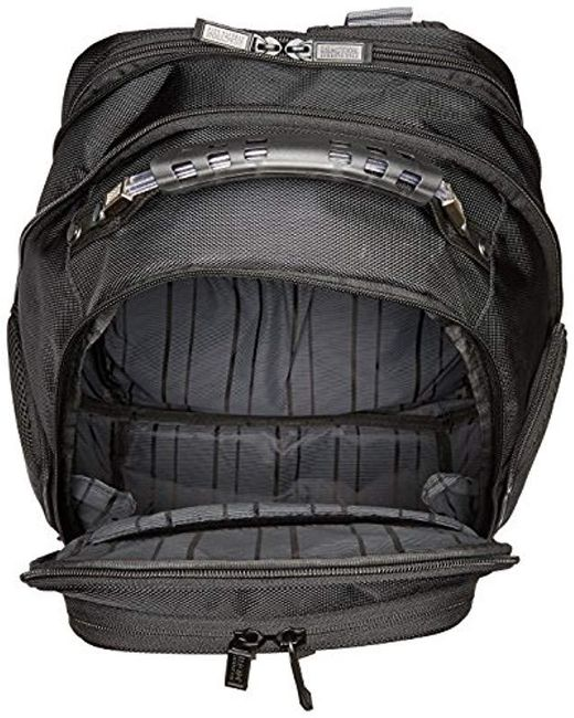 a6fbd4ab9766 ... Kenneth Cole Reaction - Black Icy Hot Expandable Dual-compartment  Computer Backpack for Men ...