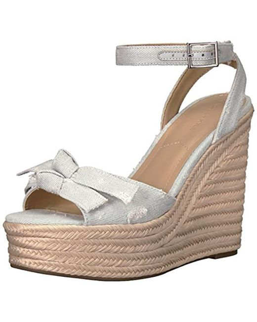 Kendall + Kylie Multicolor Gwenn Espadrille Wedge Sandal