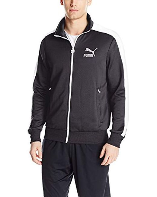 b635a600193d PUMA - Blue Archive T7 Track Jacket for Men - Lyst ...