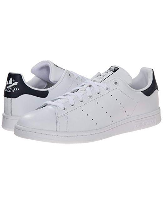 adidas Originals STAN SMITH Sneaker core whitedark blue