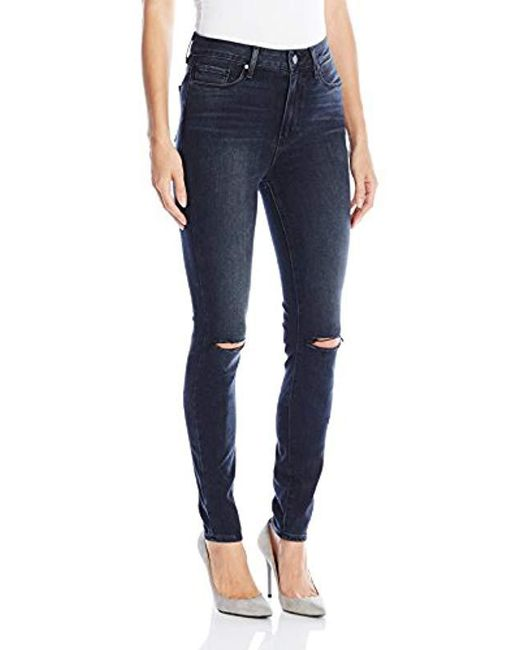 PAIGE - Blue Margot Ultra Skinny Jeans - Lyst