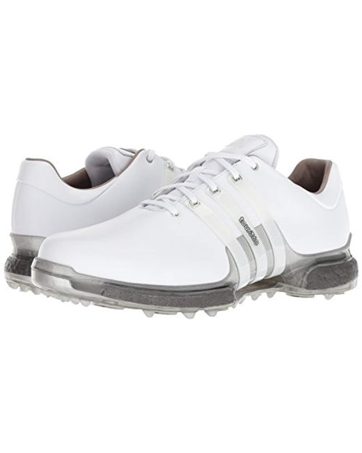 be8872fc236ad adidas Tour 360 Boost 2.0 Golf Shoe in White for Men - Save 39% - Lyst