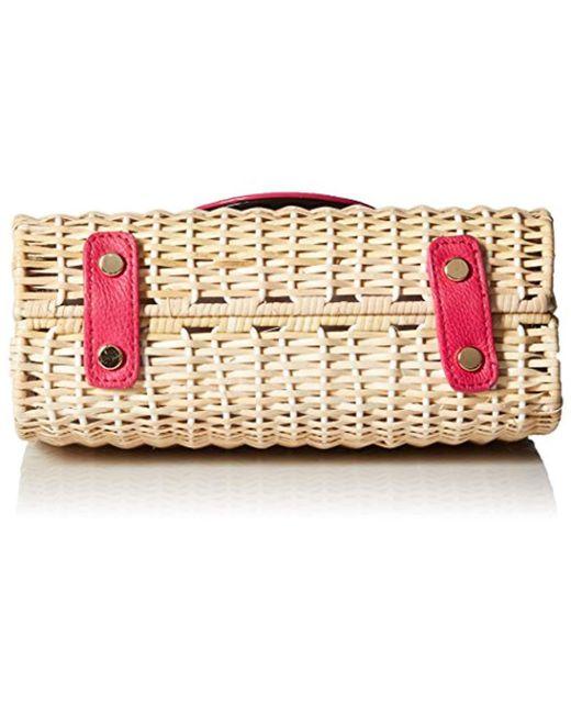 2749211a284d Women's Wicker Magenta Color Phone Bag