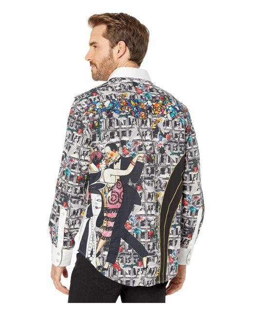Robert Graham The Dorce Lmt Ed L//S Printed Sport Shirt Multicolor Tailored Fit