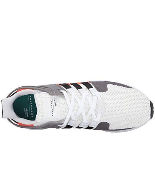 d1624e588b79ee ... Adidas Originals - White Adidas Eqt Support Adv Fashion Sneaker for Men  - Lyst ...