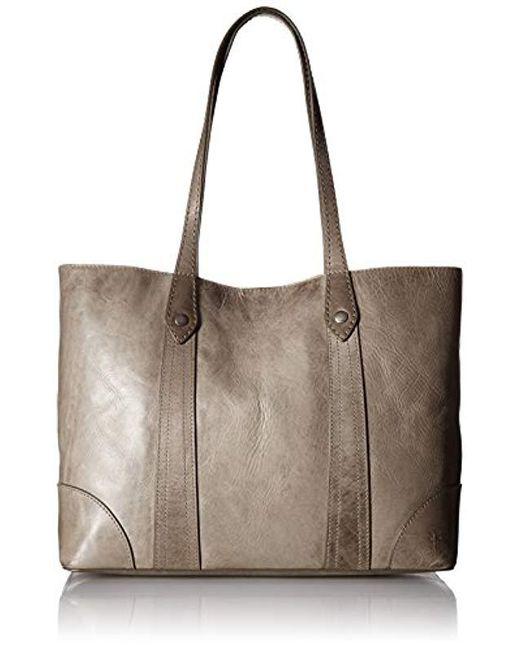 192841e6bea7 Frye - Multicolor Melissa Shopper Tote Leather Handbag - Lyst ...