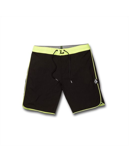 "Volcom Green Barnacle Stoney 19"" Boardshorts for men"