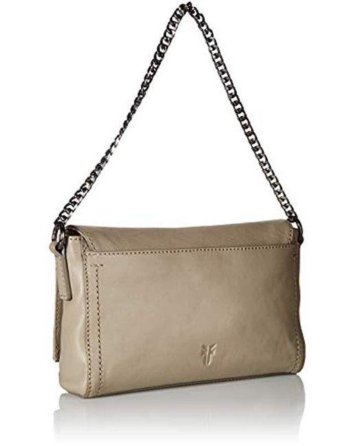 4d9c0097eda0 Women's Gray Lena Chain Zip Leather Crossbody Bag
