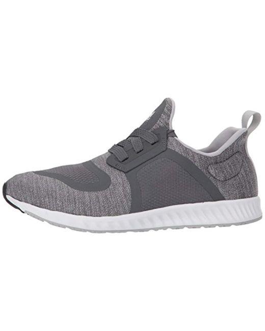 d9e768d250 Women's Gray Edge Lux Clima Running Shoe Grey/white, 10.5 M Us