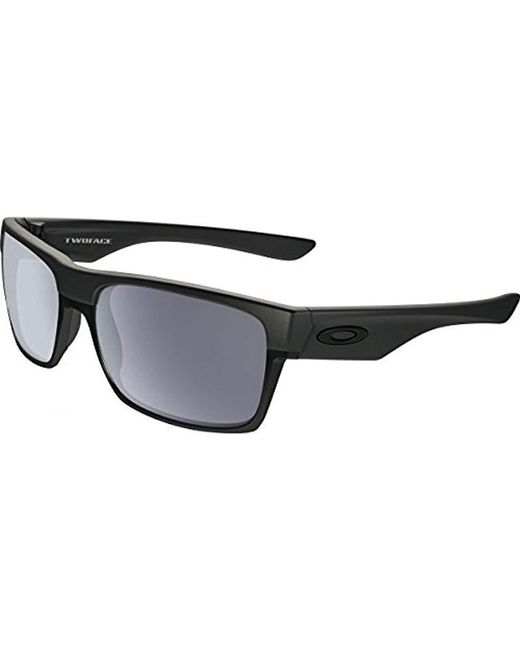 b1b2b6f13a Lyst - Oakley Twoface Rectangular Sunglasses in Black for Men