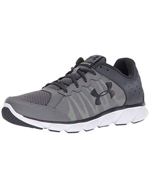 Under Armour - Gray Ua Micro G Assert 6 Training Shoes for Men - Lyst