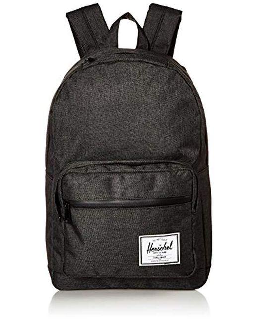 Herschel Supply Co. - Black Pop Quiz Mid-volume Backpack - Lyst ... c2cbecf578