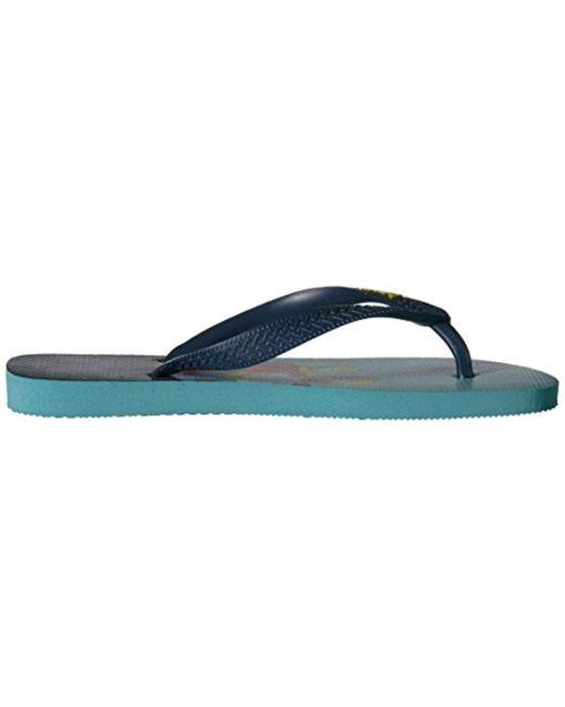 c1c2716b86b5a Women's Blue Flip Flop Sandals, Bart Simpson