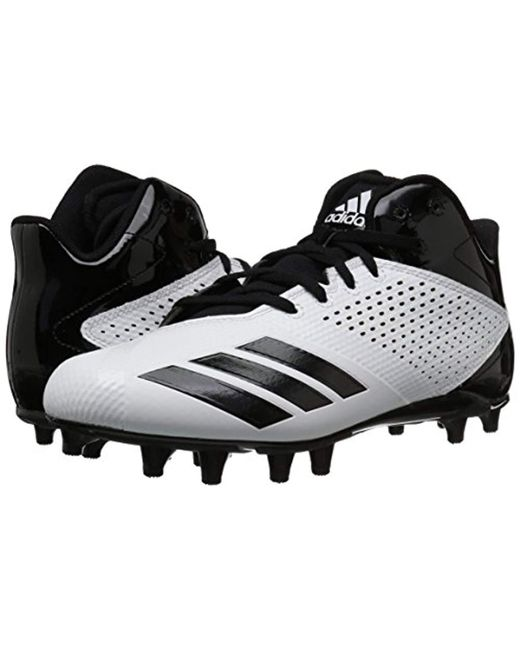 283bb60be6b Lyst - adidas 5.5 Star Mid Football Shoe in Black for Men - Save 14%