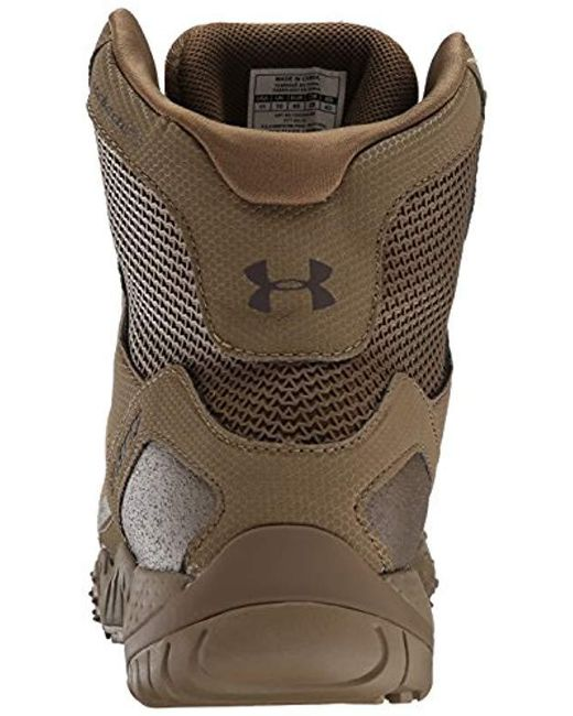 004cc700603 Under Armour Brown Valsetz Rts Military And Tactical Boot for men