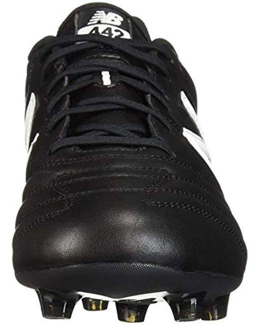 0c23f34cf39 ... New Balance - Black 442 Team Fg V1 Classic Soccer Shoe for Men - Lyst  ...