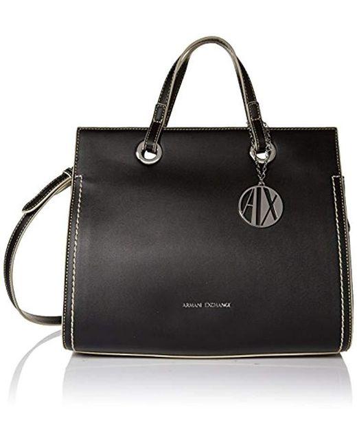 Armani Exchange - Black | Medium Reversible Bucket Bg, 00020 - Lyst